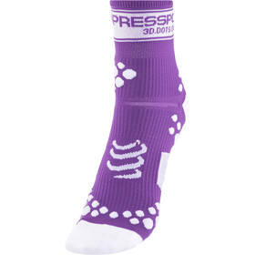 Compressport Racing V2 Socks, fluo purple